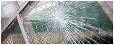 South Kirkby Smashed Glass